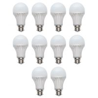 5W White LED Bulbs(Pack of 10)