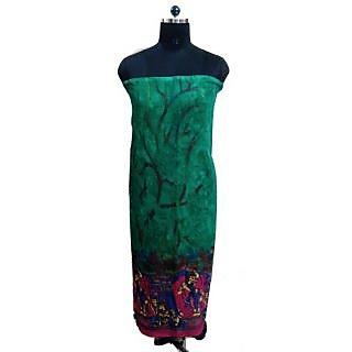 Women's Grace Multi-Color Georgette Dress Material