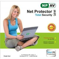 Net Protector Total Internet Security And PC Protection 2015 1 PC 1 Year