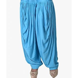 Firozi Cotton Full - Patiala Salwar For Girls & Women
