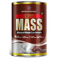 British Nutrition  Opti-mass( Advanced Mass Gainer) Chocolate Flavour