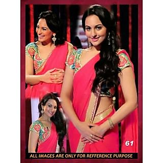 Sonakshi Sinha Red Fancy Designer Sarees