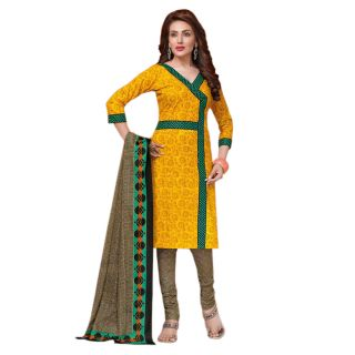 Kangana Cotton Printed Unstiched Dress Material - 75096966