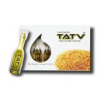 TATV 100% Pure Oil : Sesame (10 Ml Single Use Pack X 6 = 60 Ml); A BABA Product