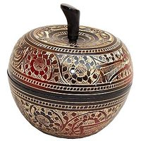 Brass Metal Dry Fruits Container / Bowl In 5 Inches