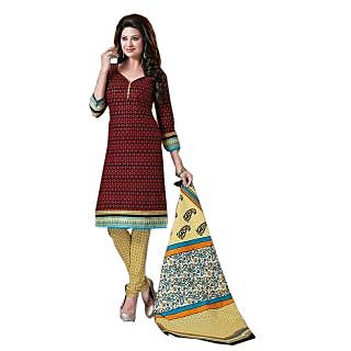 Kangana Cotton Printed Unstiched Dress Materials