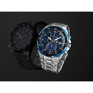 Casio Edifice EFR- 539 D-1A Stopwatch Chronograph Multi-Color Dial Men's Watch