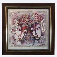 Radha Krishna Wall Decor Photo Frame