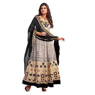 Exclusive Grey Designer Anarkali Suit