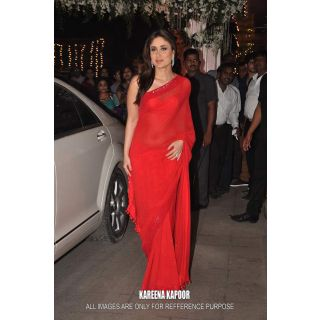 Kareena Kapoor Red Bollywood Replica Saree