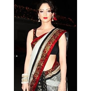 Designer Wear Bollywood Style Net Saree