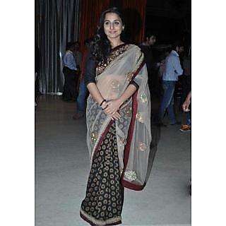 Vidya Balan Viscose Bollywood Replica Saree
