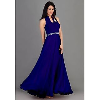 New Style Blue Gown