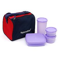 Signoraware Best Lunch Box With Insulated Bag
