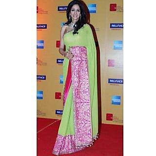Sridevi Lemon Beauty Saree