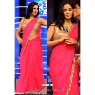 Katrina Kaif Dashing Bollywood Replica Saree