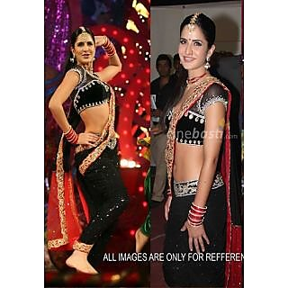 Katrina Kaif Attractive Bollywood Replica Saree
