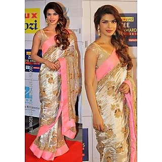 Priyanka Chopra Bollywood Replica Saree