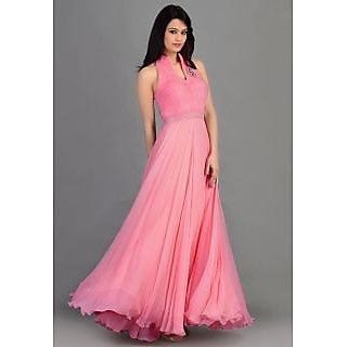 New Style Pink Gown