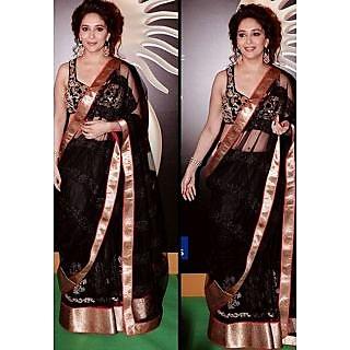 Madhuri Dixit Mackai Beauty Saree