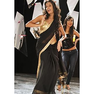 Black Bollywood Replica Saree