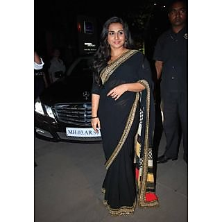 Vidya Balan Chataka Pataka Bollywood Replica Saree