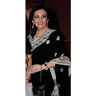 Designer Black Beauty  Saree
