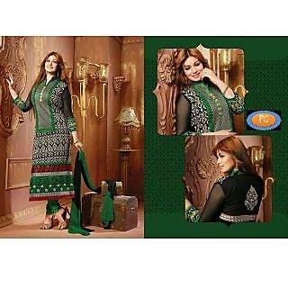 Ayesha Takia Long Cotton Black Salwar Kameez Suit