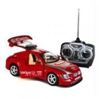 KING DRIVER REMOTE CONTROL RECHARGEABLE RACING CAR (Red, Blue, Silver)