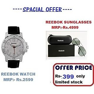 Reebok Core Watch + Reebok Sunglass