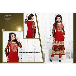Designer Georgette Embroidered Salwar Suit