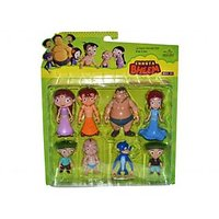 Chota Bheem Movable Action Figure - Combo Pack Of 8 Figures
