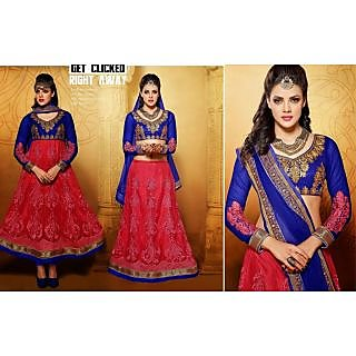 Net Red Two In One Lehenga Suit Online