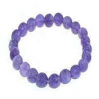 Kriti Feng Shui Amethyst Bracelet (Diamond Cut)