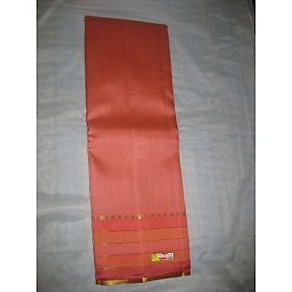 Dhadwal Cotton Silk-Plain Zari Border