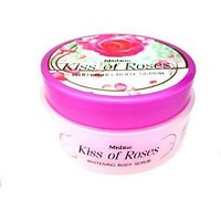 Mistine Kiss Of Rose Whitening Lightening Exfoliating Aromatic Spa Body Scrub