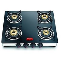 Prestige Marvel GTM 04 SS 4 Burner Glass Top Gas Stove