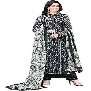 Gaargee Awsome Fashions Black Pakistani Dress Material