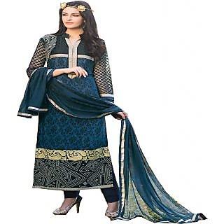 Gaargee Fashions Blue Pakistani Dress Material