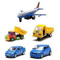 Centy Jet, Honda City, Swift, Mahindra Champion & Dumper Truck - Combo