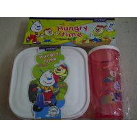 Lunch Box With Tumbler - Container Set Of Two