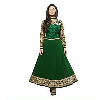 Madhav Enterprise Green Georgette Designer Party Wear Dress  Md10025