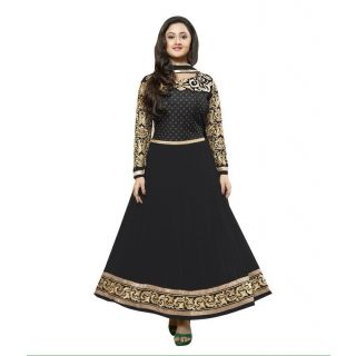 Madhav Enterprise Black Georgette Designer Party Wear Dress Md10027