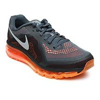 Nike Men Grey & Black Air Max 2014 Running Shoes