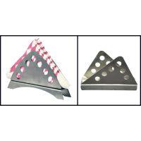 Stainless Steel Tri Combo Napkin Holder Set Of 2