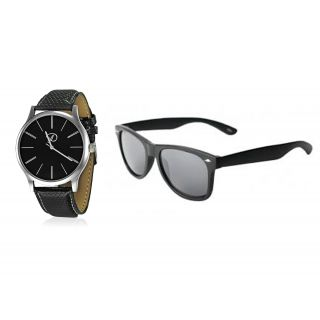 Combo Of  Watch & Sunglasses - For Men