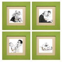 Wmm Craft Photo Frame Green Set Of 4