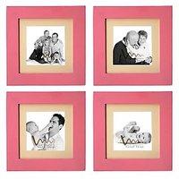 Wmm Photo Frame Pink Set Of 4