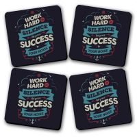 Success Printed Wooden Kitchen Coaster Set Of 4