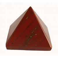VASTU / FENGSHUI / RED JESPER PYRAMID FOR ENERGY & CONFIDENCE (28-40 GM)